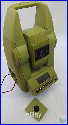 Leica Wild TC500 Total Station Surveying Instrument PASSED SELF TEST NO ERRORS