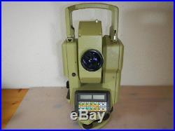 Leica Wild Tachymat Tc 1600 Theodolit Total Station Optisch Top Zustand