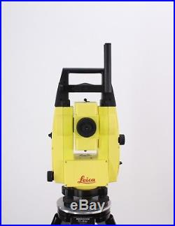 Leica iCON Robot 50 5 iCR55 Robotic Total Station Kit with Rugged CC80 7 Tablet