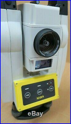 Leica iCON iCR70 5 Robotic R500 ATR EDM Reflectorless Total Station Survey Tool