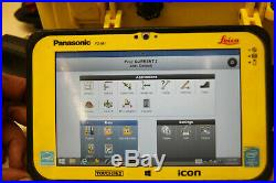 Leica iCon 50 5 iCR55 Robotic Survey Total Station CC80 Tablet Icon Site Plus