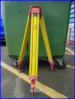 Leica wooden tripod Surveying Tripod Total Station