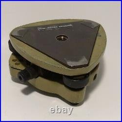 Lot Of 5 Green Tribrach Tribrachs For Leica Trimble Topcon Seco Sokkia Survey