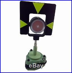 New Single Prism Tribrach Set System For Leica Total Station Surveying