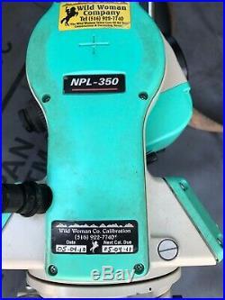 NIKON TOTAL STATION NPL-350 REFLECTORLESS (Trimble leica)