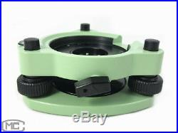 New Green Total Station Tribrach With Optical Plummet Replace Leica GDF322