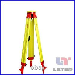 New Heavy LEICA Wooden Tripod for Survey Instrument Total Station Level