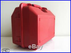 New Red Hard Carrying Case For Leica Ts02 Ts06 Ts09 Total Station