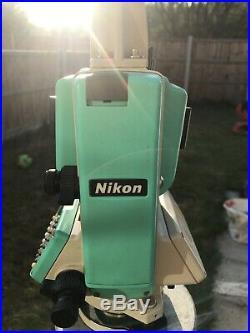 Nikon DTM 332 Total Station Works On Sokkia Topcon Leica Prism