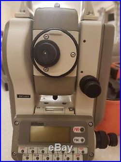 Nikon DTM310 Total Station with calibration certificate surveying with Leica