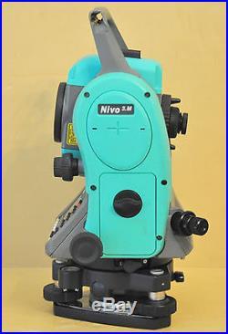 Nikon Nivo 3. M 3 Reflectorless Total Station Survey leica Sokkia Trimble