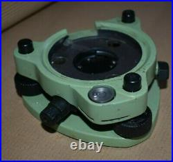 Professional Leica GDF122 Tribrach for Prism, Total Station, GNSS