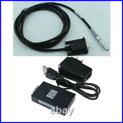 Small 0B 5 pin Data Cable Bluetooth Adapter for Leica Total Station 100m Range