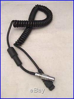 TDS Coiled Cable For HP 48GX (4 Pin) to LEICA TOTAL STATION