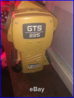 TOPCON GTS-225 TOTAL STATION HEAD UNIT, No Battery, Surveying GPS