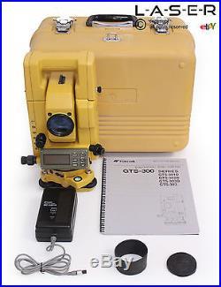 Topcon Gts-303d Surveying Total Station, Leica, Trimble, Nikon, Sokkia