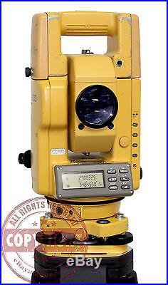 Topcon Gts-303d Total Station, Surveying, Sokkia, Trimble, Nikon, Leica, Surveyors