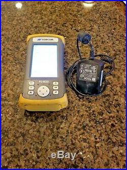 Topcon FC-500 GPS GNSS Total Station Data Collector Controller with Magnet Field