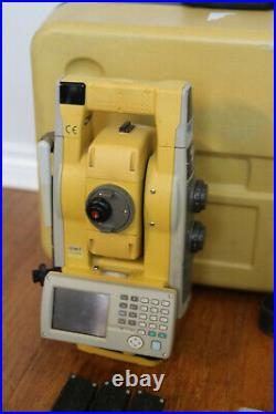 Topcon GTS-903A 3 Robotic Surveying Total Station System RC-4