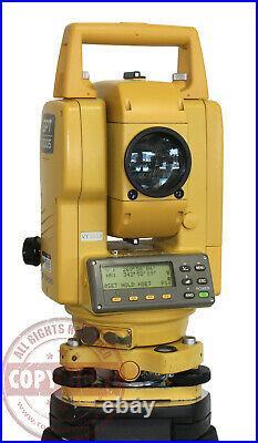 Topcon Gpt-2005 Prismless Surveying Total Station, Sokkia, Trimble, Leica, Nikon