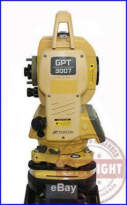 Topcon Gpt-3007 Prismless Surveying Total Station, Sokkia, Trimble, Leica, Nikon