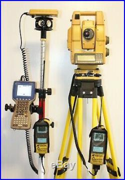 Topcon Gpt-8205a Robotic Prism-less Total Station, Trimble, Sokkia, Leica