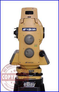 Topcon Gpt-8205a Robotic Prismless Surveying Total Station, Sokkia, Trimble. Leica