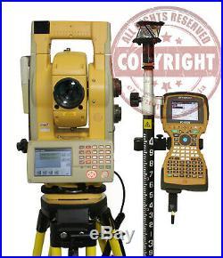 Topcon Gpt-9003a Robotic Prismless Surveying Total Station, Trimble, Sokkia, Leica