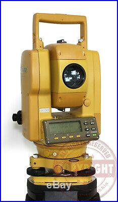 Topcon Gts-212 Surveying Total Station, Trimble, Sokkia, Nikon, Transit, Leica