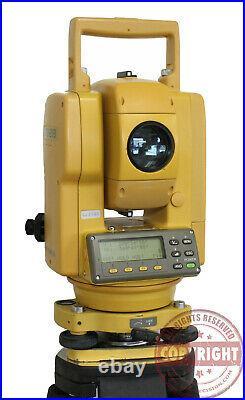 Topcon Gts-213 Surveying Total Station, Trimble, Sokkia, Leica, Transit, Nikon