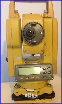 Topcon Gts-226 Surveying Total Station Fully Tested Calibrated