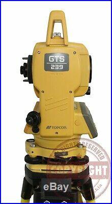 Topcon Gts-239 Surveying Total Station, Trimble, Sokkia, Leica, Transit, Survey Pro
