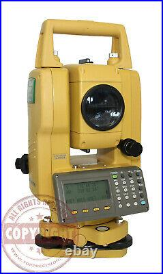 Topcon Gts-255w Surveying Total Station, Survey Pro, Trimble, Sokkia, Nikon, Leica