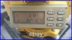 Topcon Gts-303 Surveying Total Station, Trimble, Sokkia, Nikon, Leica, Transit
