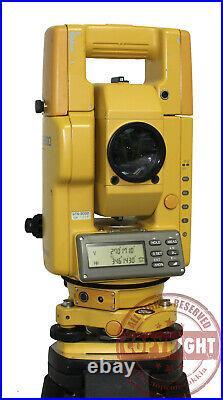 Topcon Gts-303d Surveying Total Station, Trimble, Sokkia, Nikon, Leica, Transit