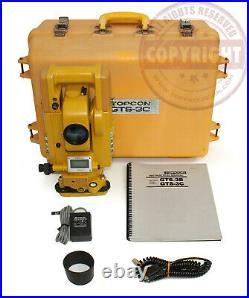Topcon Gts-3c Surveying Total Station, Trimble, Sokkia, Nikon, Leica, Transit