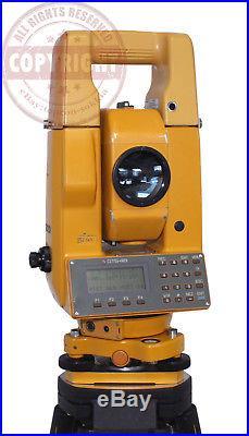 Topcon Gts-4b Surveying Total Station, Sokkia, Trimble, Topcon, Nikon, Transit, Leica