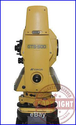 Topcon Gts-500 Surveying Total Station, Topcon, Trimble, Sokkia, Nikon, Transit, Leica