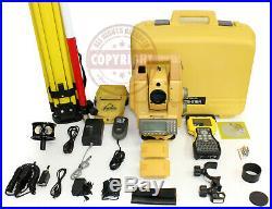 Topcon Gts-815a Robotic Surveying Total Station, Trimble, Sokkia, Leica, Robot