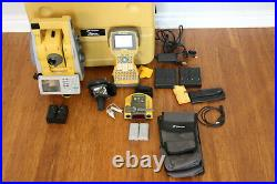 Topcon IS-203 3 Robotic Imaging Total Station Kit FC-2500 Collector RC-4 TopSur