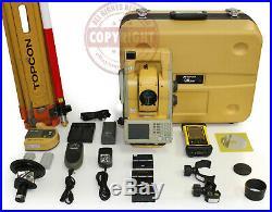 Topcon Qs5a Prismless Robotic Surveying Total Station, Trimble, Sokkia, Leica