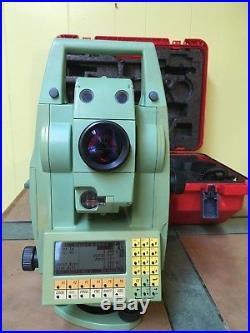 Total Station Leica TCRA 1102 Extended Range Swiss Surveyor