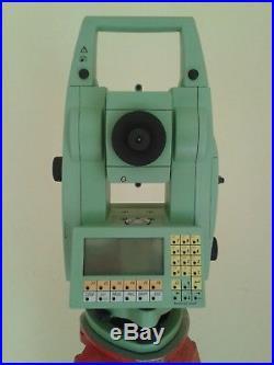 Total Station Leica Tcrm 1102 Plus Stazione Totale Motorizzata