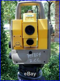 Trimble 5603 3 DR200+ Robotic Reflectorless Survey Total Station Direct Reflex
