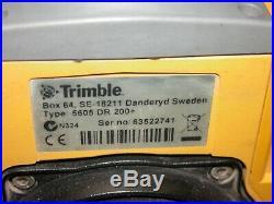 Trimble 5605 DR 200+ Total Station
