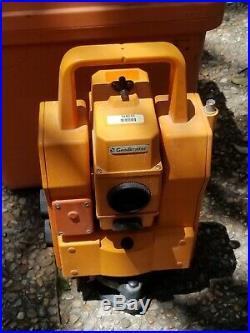 Trimble Geodimeter 610 Robotic Survey Total Station with Case