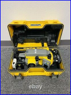 Trimble TS215 5 Mechanical Total Station Set withCase, Batteries & Prism Nikon